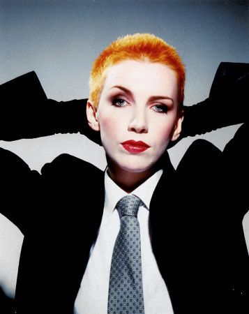 Annie Lennox - I wanted to be her so badly when I was a little girl.