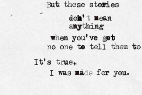 Our wedding song: 'The Story' by Brandi Carlile <3