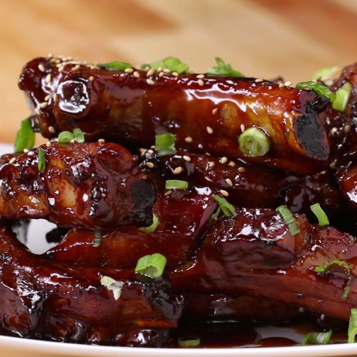 Deep-Fried Sticky Ribs