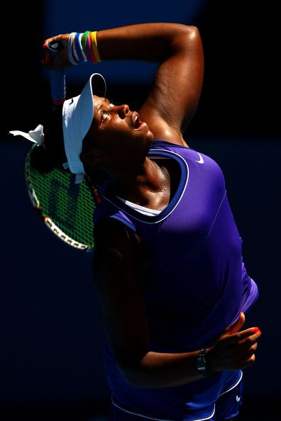 Taylor Townsend | Taylor Townsend Taylor Townsend of the United States of America serves ...