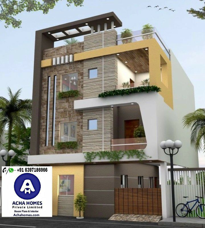 25 Feet By 25 Feet Modern House Plan Below 30 LAKHS
