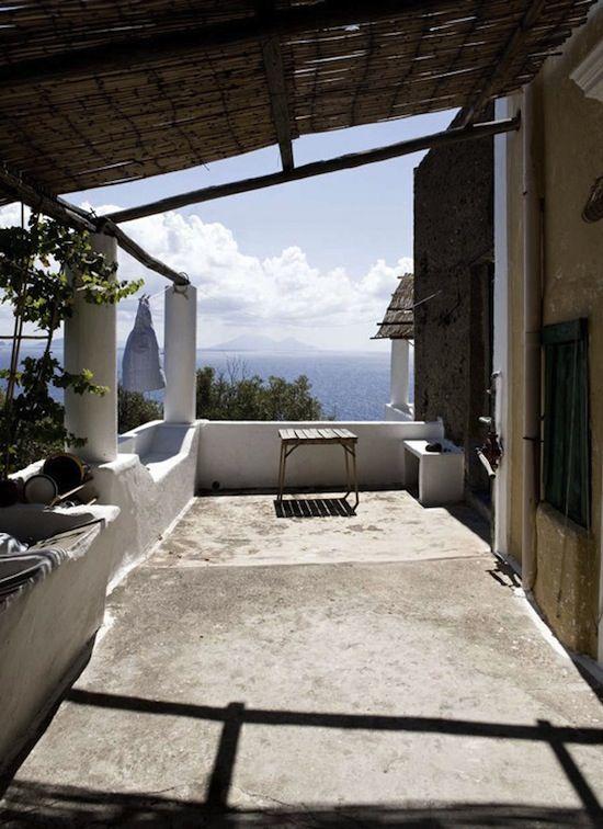 home visit: stromboli, italy
