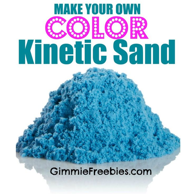 Kinetic sand (like sand silly putty) for bulk: Quikrete Play Sand from Home Depot (50lb) 6c cornstarch 1 tbsp dawn water tea tree oil color agent
