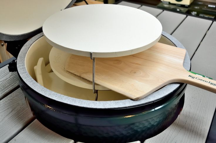 Big Green Egg Roswell Double Pizza Rig