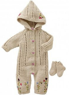 Hooded jumpsuit - knit