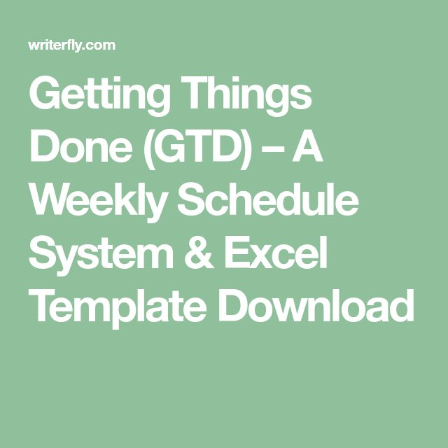 Best 25+ Weekly schedule template excel ideas on Pinterest - detailed schedule template