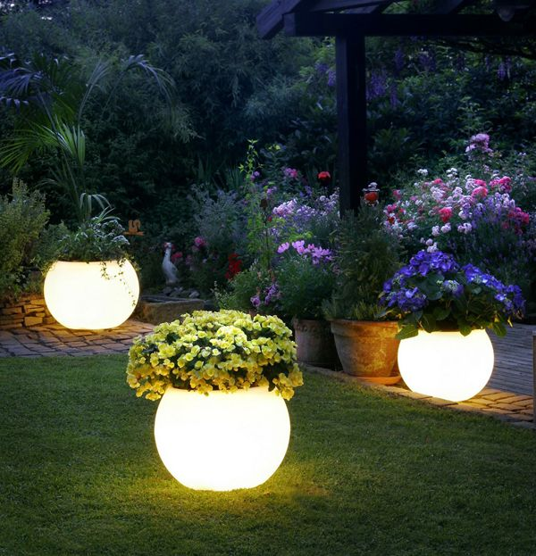 Would love these lights in my backyard at night