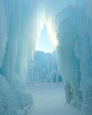 And by day you are Jadis, the White Witch of Narnia, reigning and surveying your land. | This Magical Ice Castle In Edmonton Will Transport You Straight To Narnia