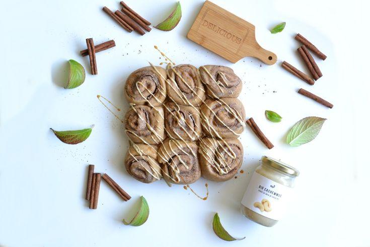 Recette cinnamon rolls sans sucre raffiné, sans beurre ni lactose - healthyfoodcreation