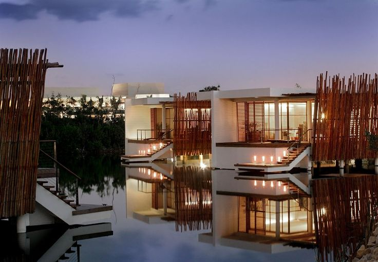 Rosewood Mayakoba Playa del Carmen - I suggest booking a over the water lagoon room or a beach front suite.