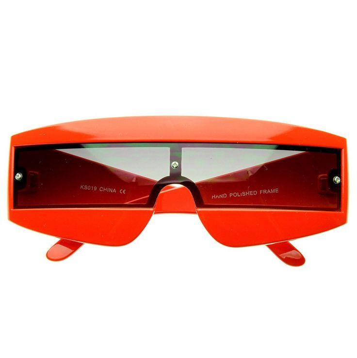 Futuristic Wrap Around Daft Punk Party Novelty Sunglasses - sunglass.la