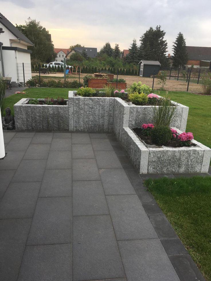 Raised Bed Of Granite Garten Hochbeet Garten Garten Landschaftsbau
