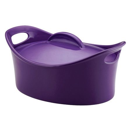 Such a cute casserole dish, looks like it might be hard to store though