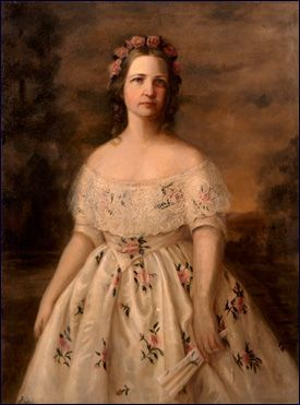 Mary Todd Lincoln, married to Abraham Lincoln, the 16th president. Her life was filled with great triumphs and great tragedy. She was first lady during the civil war and neither the southerners nor the northerners accepted anything she did. Her husband's assassination in 1865 shattered her. The only child that survived to adulthood was Robert Todd Lincoln. . She struggled with mental illnesses.