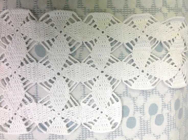 Crochet New Design : Cotton crochet tablecloth design (new) OTHD by KeKe Agnes & Flo ...