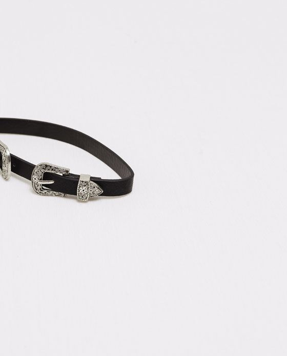 ZARA - WOMAN - CHOKER MINI BELT