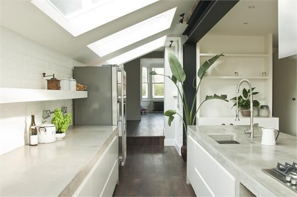 kitchen in extension