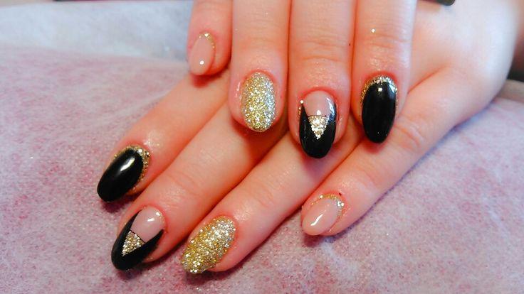 Αcrylic nails oval