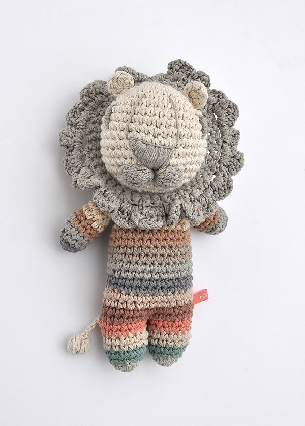 ♥ miga de pan crochet lion