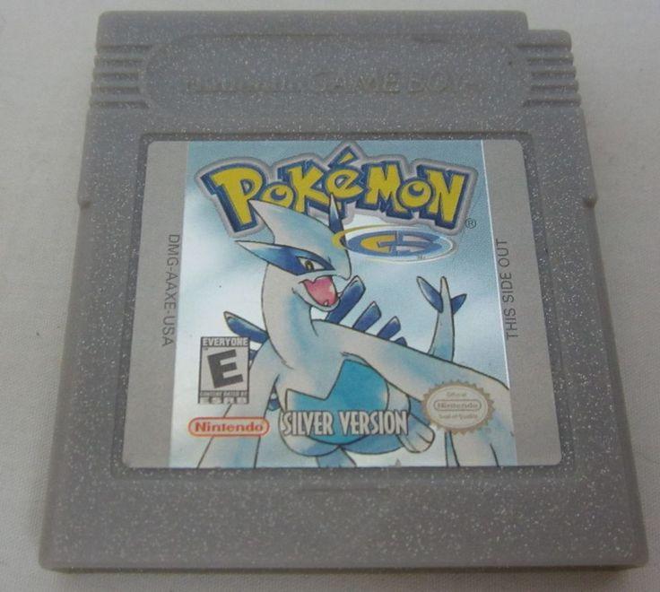 Pokemon Silver Version Nintendo Game Boy *New Save Battery*