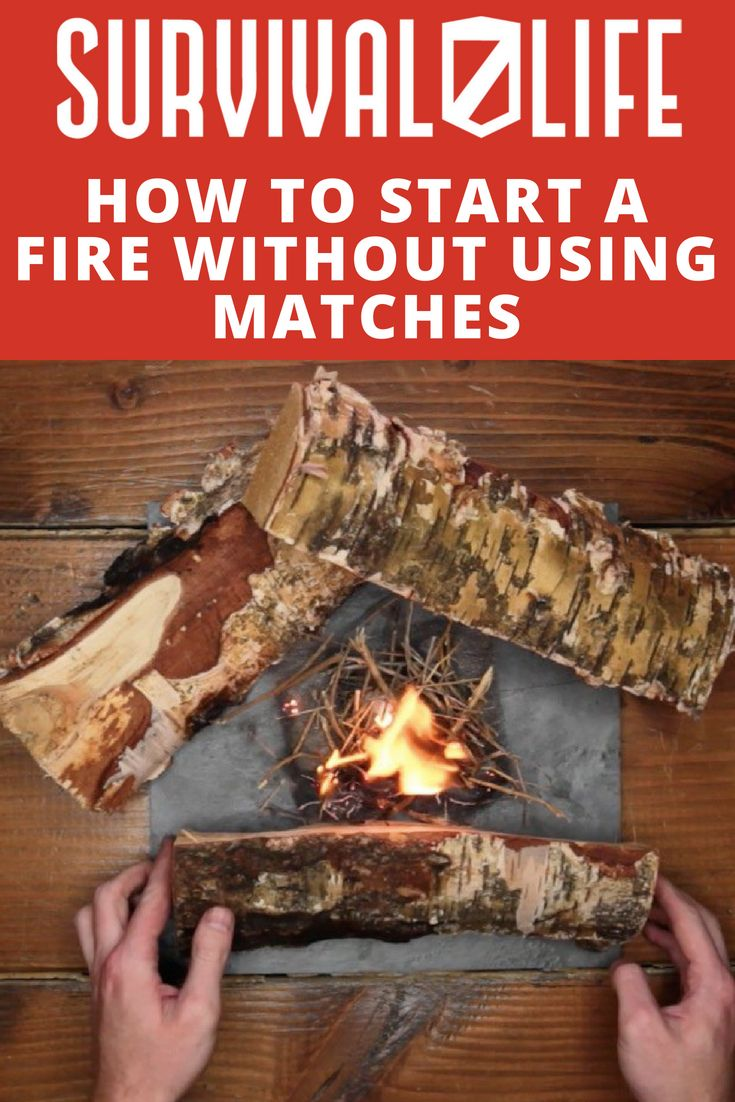 How To Start a Fire without Using Matches | Survival Tools