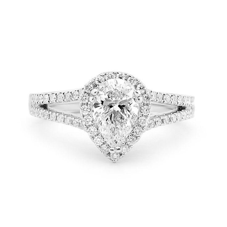 Pear shaped diamond.  Source: Matthew Ely.