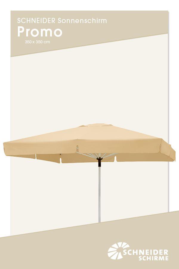 Sonnenschirm Gastro Promo 350 X 350 Cm Bespannung 100