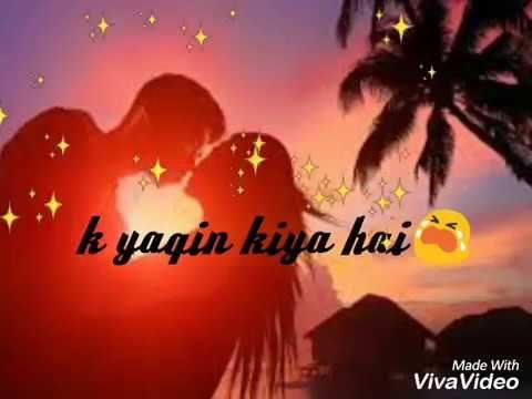Whatsapp sad song status video/ yeh qasor mera haibeautifull status https://youtu.be/_xth-NYyapA