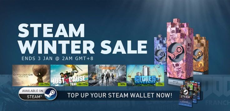 Steam Winter Sale 2017: GTA V, Tekken 7, CSGO, and More PC Game Discounts #SteamWinterSale2017 #Gaming #Game #news