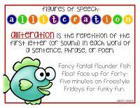 Alliteration mini-anchor chart