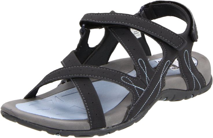 Hi-Tec Women's Waimea Falls Backstrap Sandal,Blue Moon/Grey/Light Blue,7 M