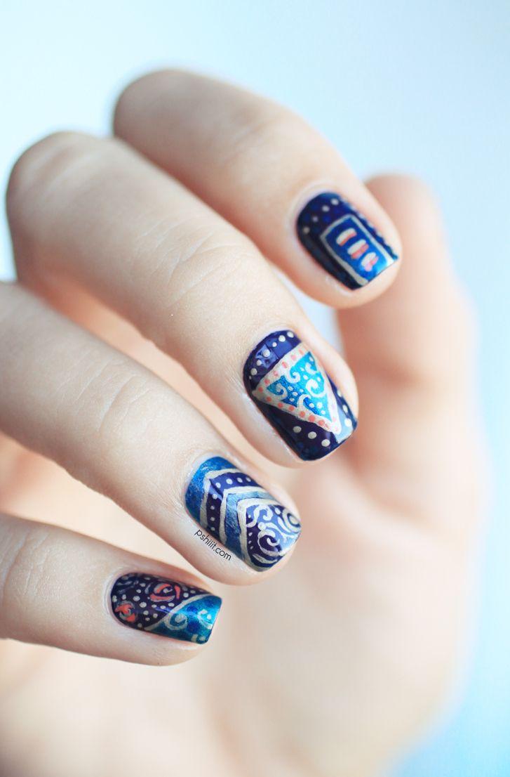 Mejores 20 imágenes de uñas en Pinterest | Decoración de uñas ...