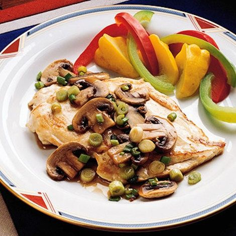 A simple and delicious entree, Chicken Marsala is loved by everyone. Quick to prepare, featuring a fresh mushroom and wine sauce, this dish is elegant enough for company and easy enough for everyday. Pair it with a vegetable and some crusty bread. Consider a fairly substantial dessert for a perfect end to this great meal.