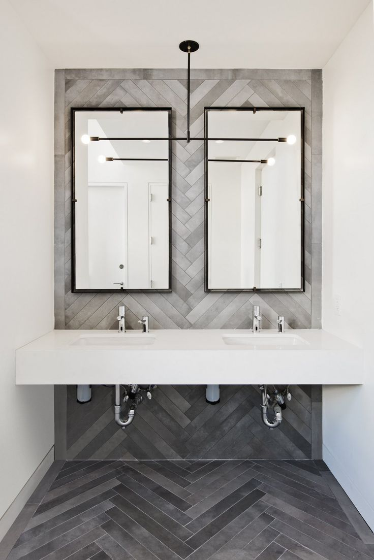 office restroom design. Financial Services Company Offices - New York City 6 Office Restroom Design