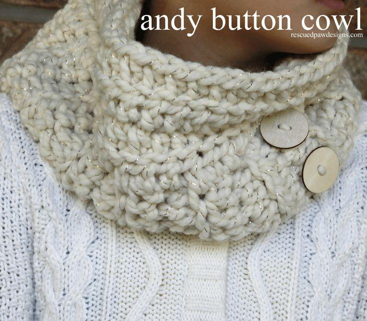 223 best Scarf & Cowl Patterns images on Pinterest   Crochet cowls ...