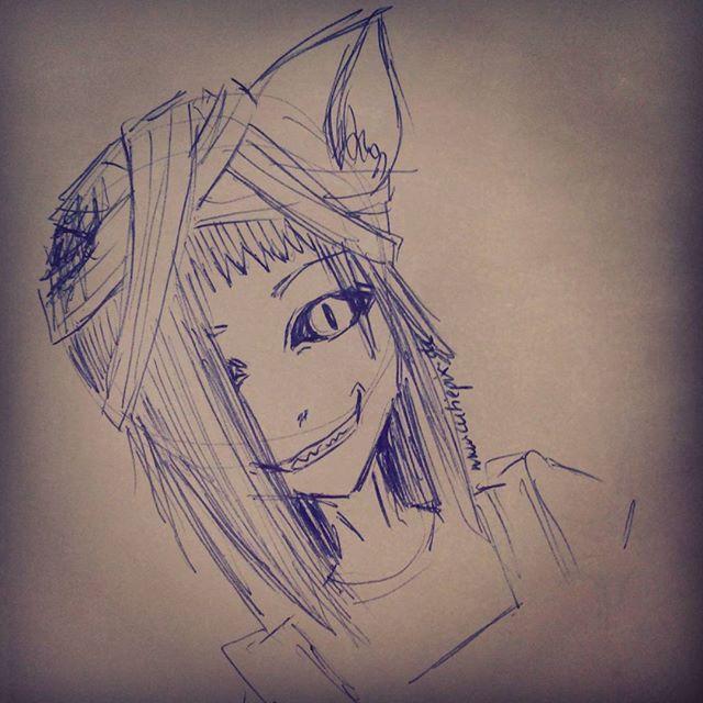 #Catgirl  Eine verletzte Mietzekatze xD Eine kleine #Katzendämonin  Wie gefällt Sie euch?  #Catboy #cat #boy #girl #anime #manga #sketch #skizze #drawing #draw #ears #katze #ohren #dämon #demon #zeichnung #cutiepix #cutiepixdesign  #augen #grinsen #eyes #аниме #манга #девочка #ресунок #кошка #кот #дявол