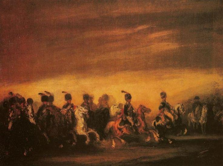 Piotr Michałowski – Defilada przed Napoleonem