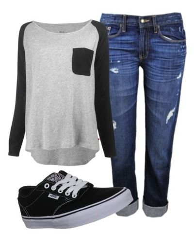 excellent outfits polyvore casual 11