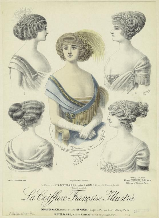 77 Best Edwardian Hair Styles 1901 1920 Images On Pinterest