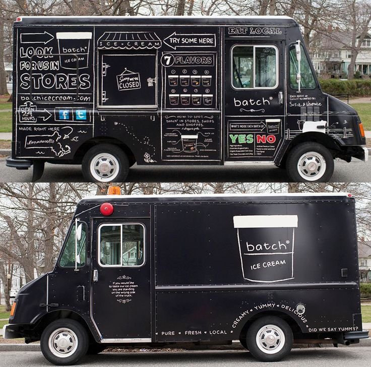 Goodbye Ice Cream Trucks Of The Old And Hello To New If Its Hip Here Hot Design Branding For A Cold Product Batch