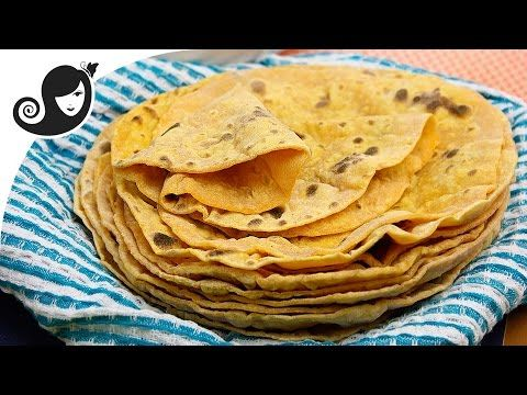 Sweet Potato Flatbread or Roti [with Video] | No Added Oil + Vegan