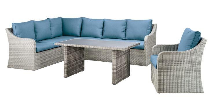 SUNS Braga - Lounge set - SUNS Blue Collection - 4 parts