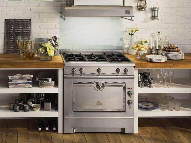 oltre 25 fantastiche idee su cucina in acciaio inox su pinterest ... - Cucina A Libera Installazione