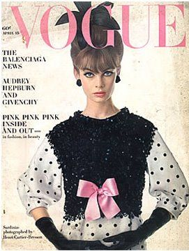 Vintage Vogue magazine covers - mylusciouslife.com - Vintage Vogue April 1963.jpg
