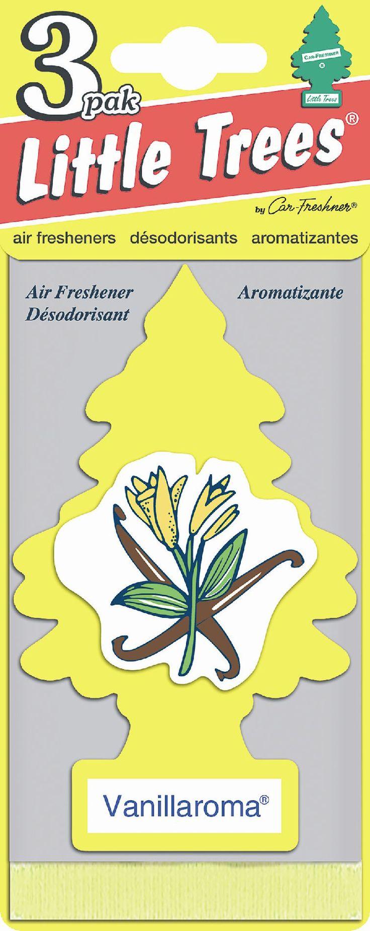Car Freshner Little Trees Air Freshener 3 pack Vanillaroma