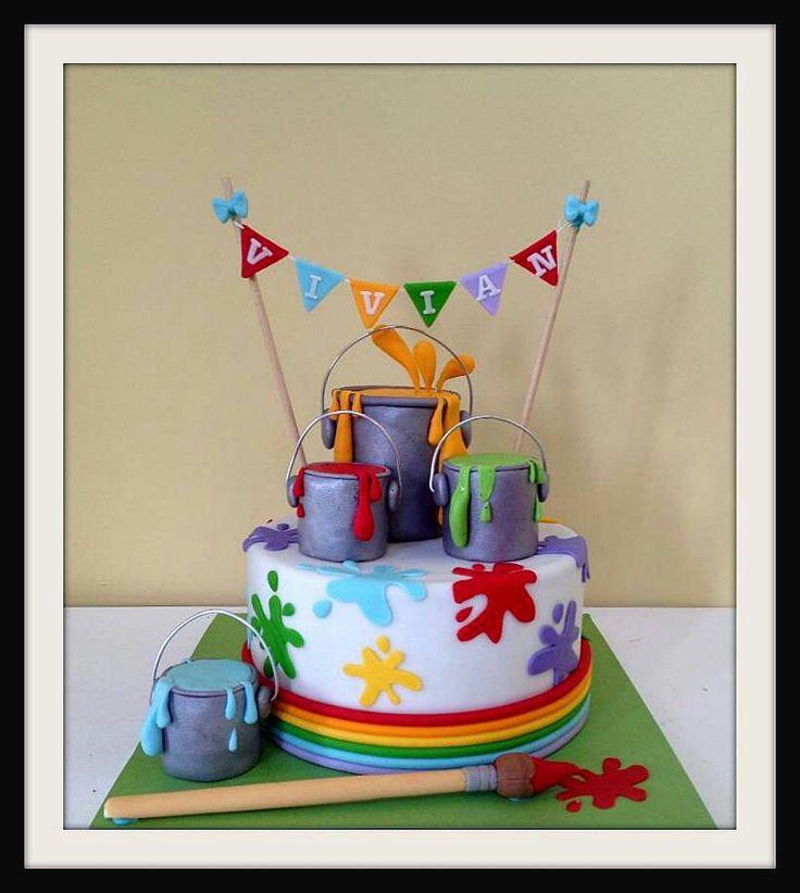 Cake Artist Painter : Painters cake Art / Craft / Hobby cakes Pinterest ...