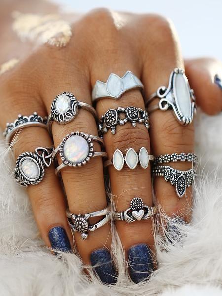 7640f67f97 Kingdom Ring Set | Ring, Boho and Pretty rings