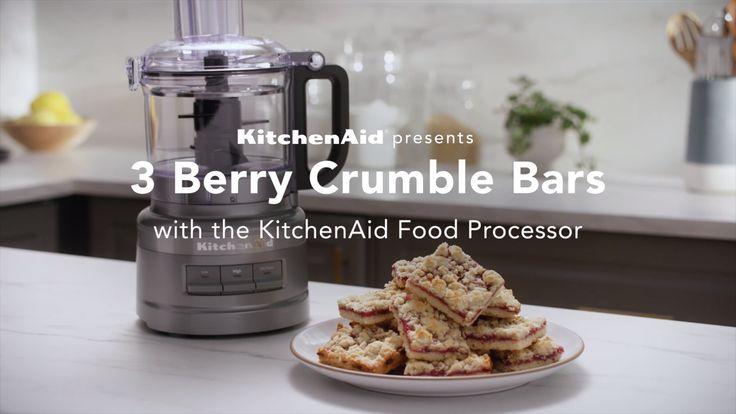 KitchenAid® 7 Cup Food Processor in Onyx Black [Video] in