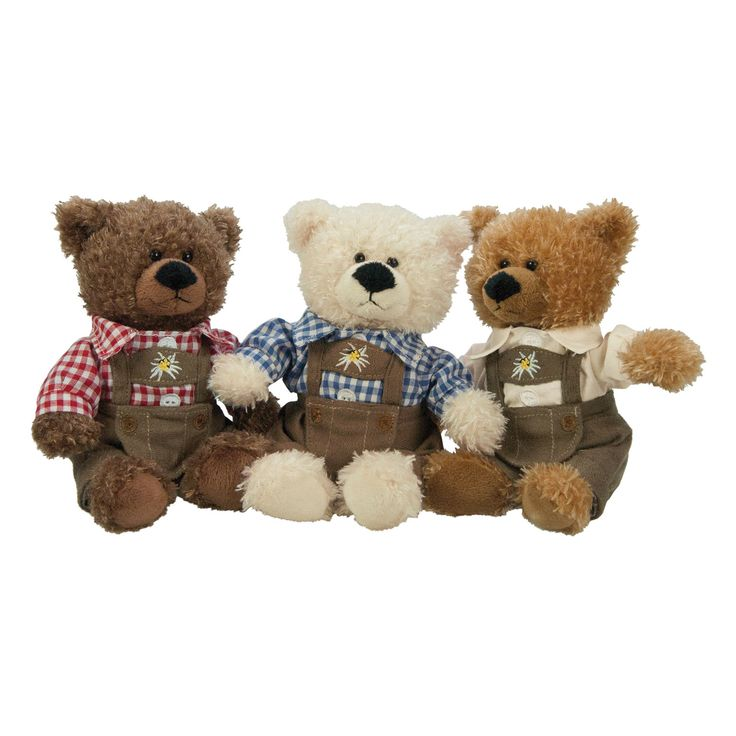 Teddy bear / Soft bear #Bavaria #Tracht #Sorgenfresser #kuschlig