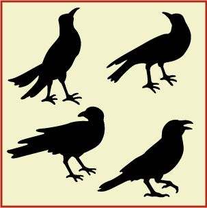 Free Primitive Crow Pattern - Bing images